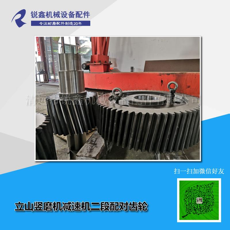 立山竖磨机减速机二段配对齿轮.jpg